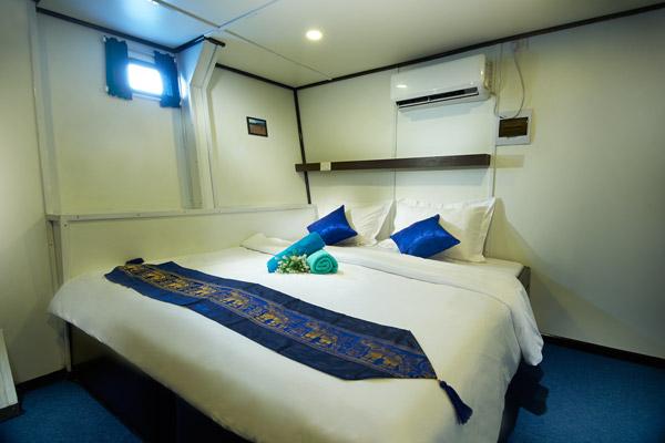 Croisière plongée Galapagos Master, cabine matrimoniale