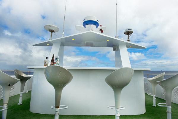 Croisière plongée Galapagos Master, pont supérieur