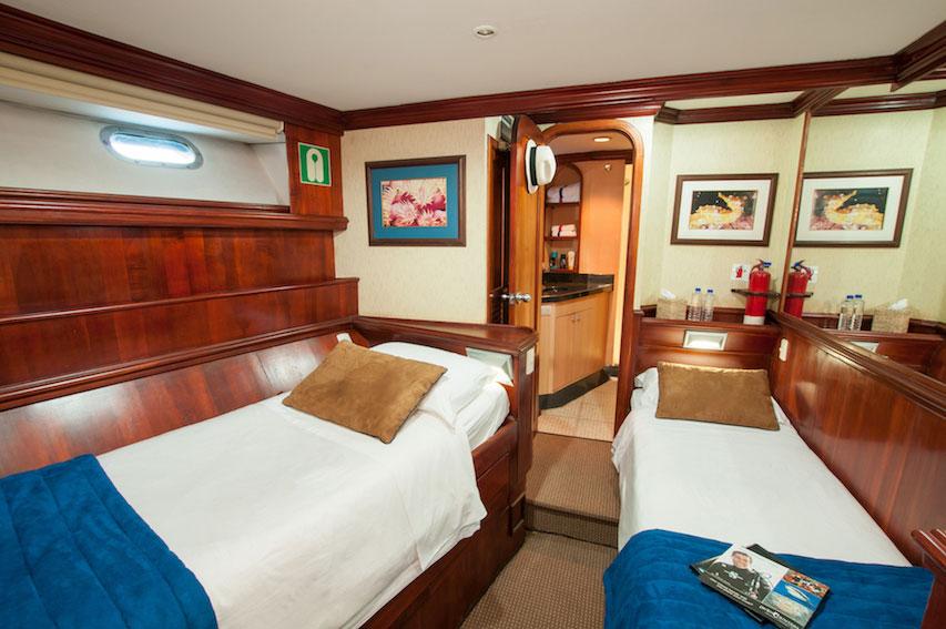 Croisière plongée Galapagos Sky, cabine twin