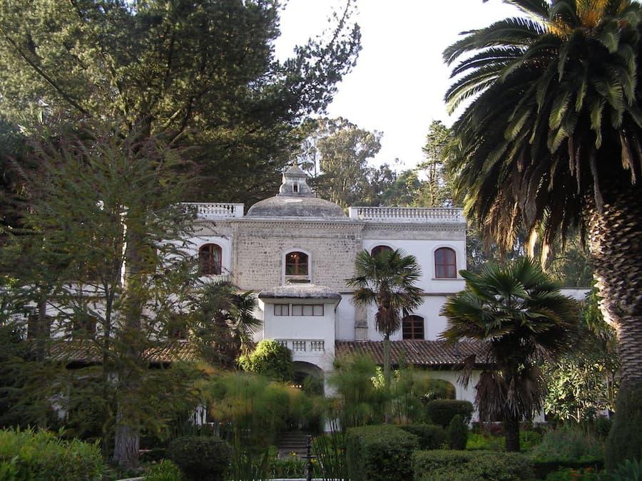 Hôtel Hacienda La Cienega, Parc Cotopaxi, Equateur, façade extérieure