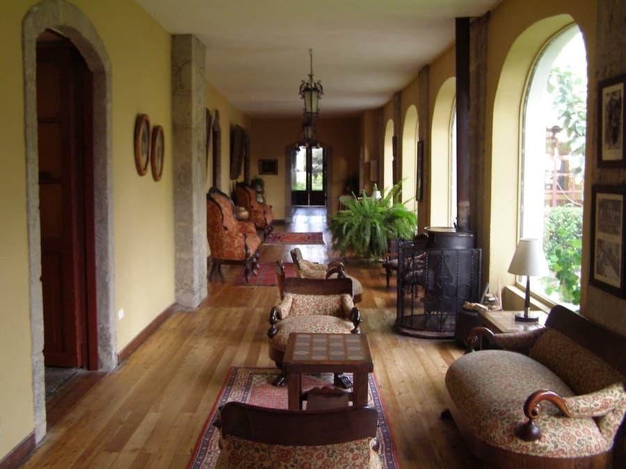 Hôtel Hacienda La Cienega, Parc Cotopaxi, Equateur, salon social