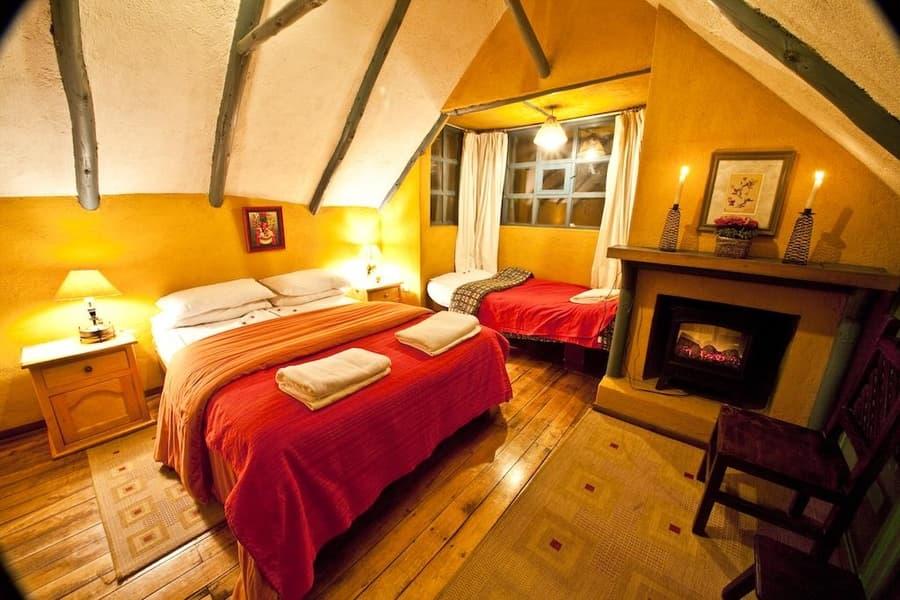 Hôtel Hacienda El Porvenir, Parc Cotopaxi, Equateur, chambre triple