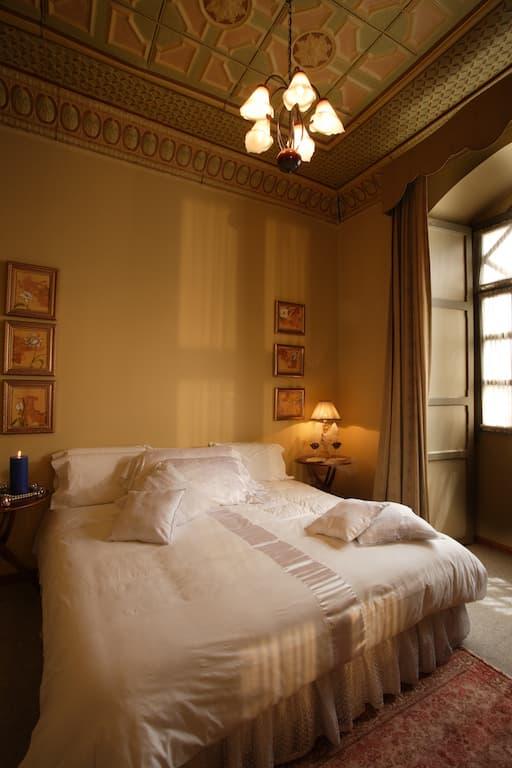 Hôtel colonial Carvallo, à Cuenca, Equateur, chambre double matrimoniale