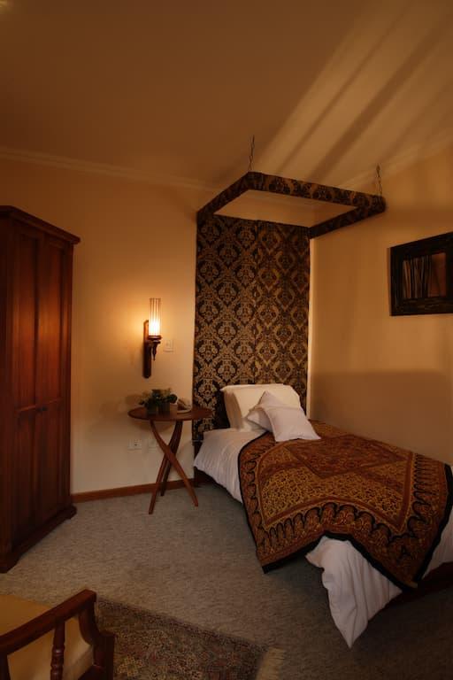 Hôtel colonial Carvallo, à Cuenca, Equateur, chambre simple single