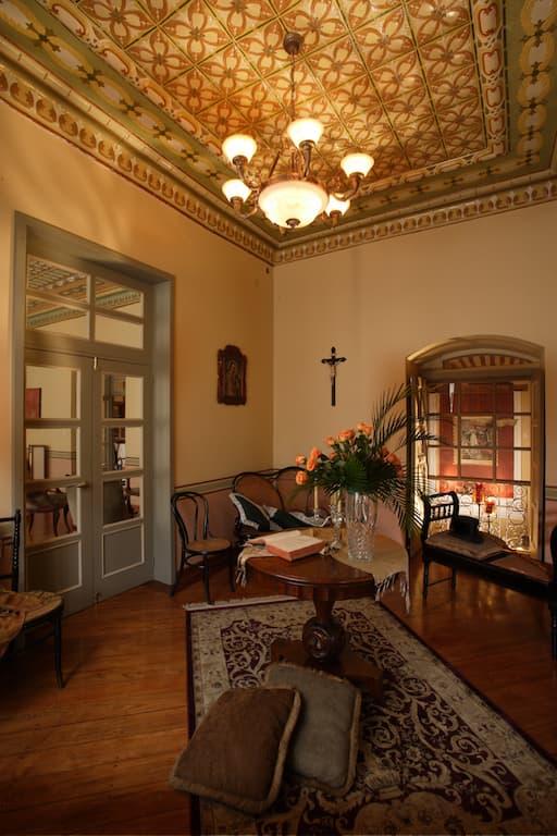 Hôtel colonial Carvallo, à Cuenca, Equateur, salle de repos