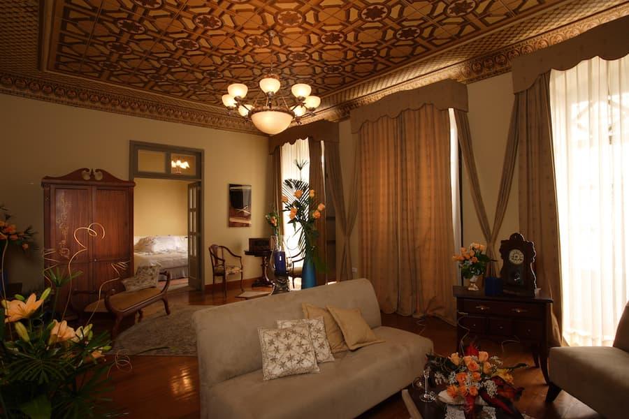 Hôtel colonial Carvallo, à Cuenca, Equateur, suite matrimoniale