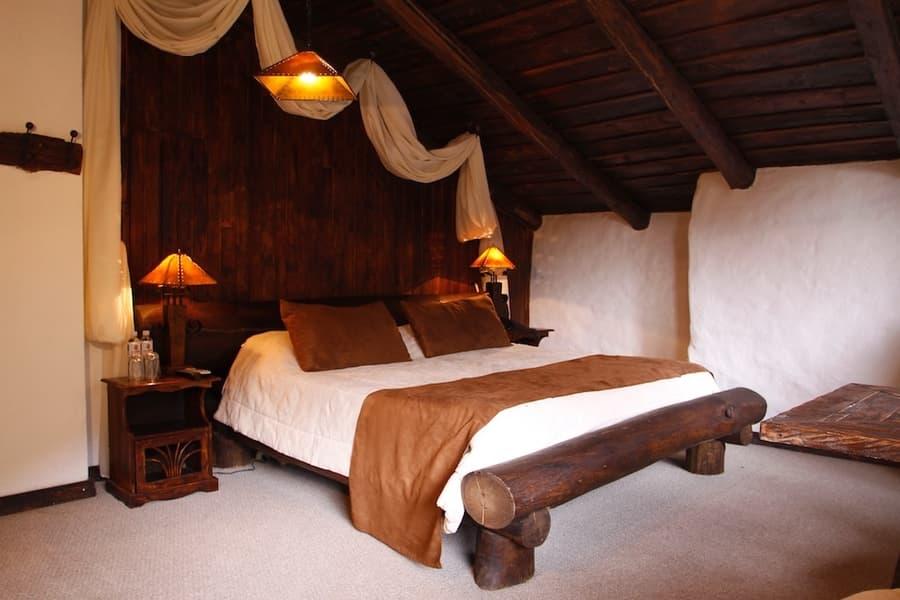 Hôtel Hacienda Dos Chorreras, à Cuenca, Equateur, chambre double matrimoniale