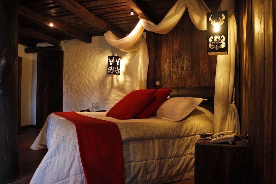 Hôtel Hacienda Dos Chorreras, à Cuenca, Equateur, suite matrimoniale