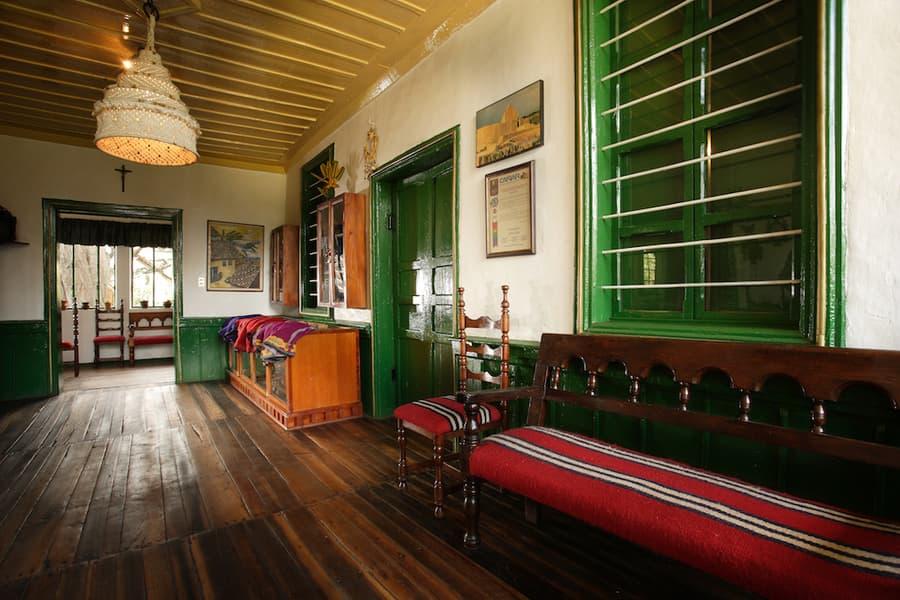 Hôtel Posada Ingapirca, près de Cuenca, Equateur, entrée et réception