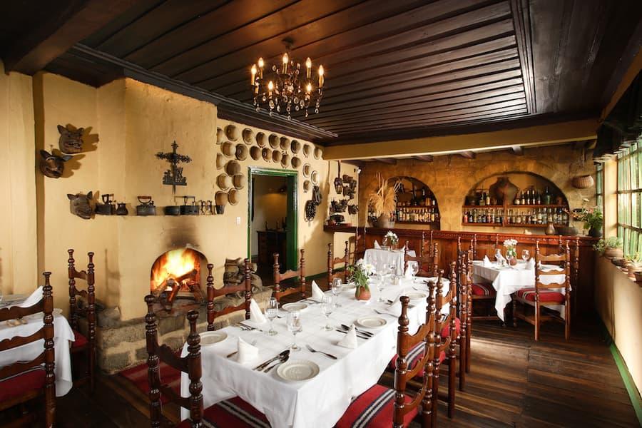 Hôtel Posada Ingapirca, près de Cuenca, Equateur, restaurant