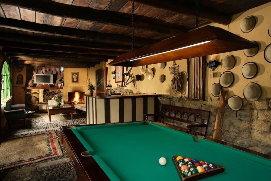 Hôtel Posada Ingapirca, près de Cuenca, Equateur, salle de jeux