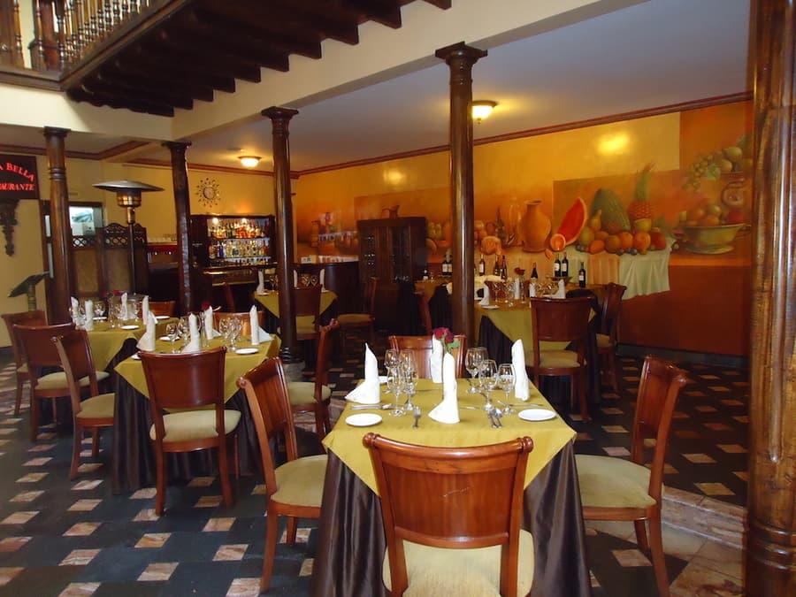 Hôtel San Juan, à Cuenca, Equateur, restaurant