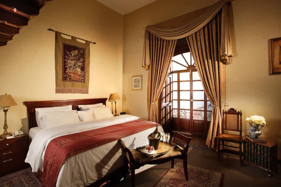 Hôtel Santa Lucia, à Cuenca, Equateur, suite matrimoniale de luxe