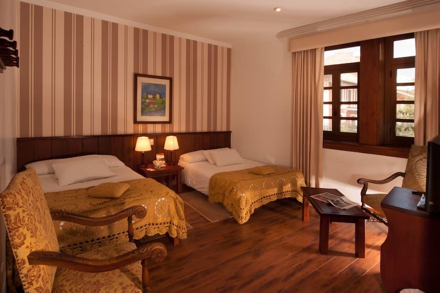 Hôtel Victoria, à Cuenca, Equateur, chambre double lits jumeaux supérieure