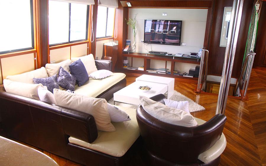 Croisière plongée Galapagos Humboldt, salon