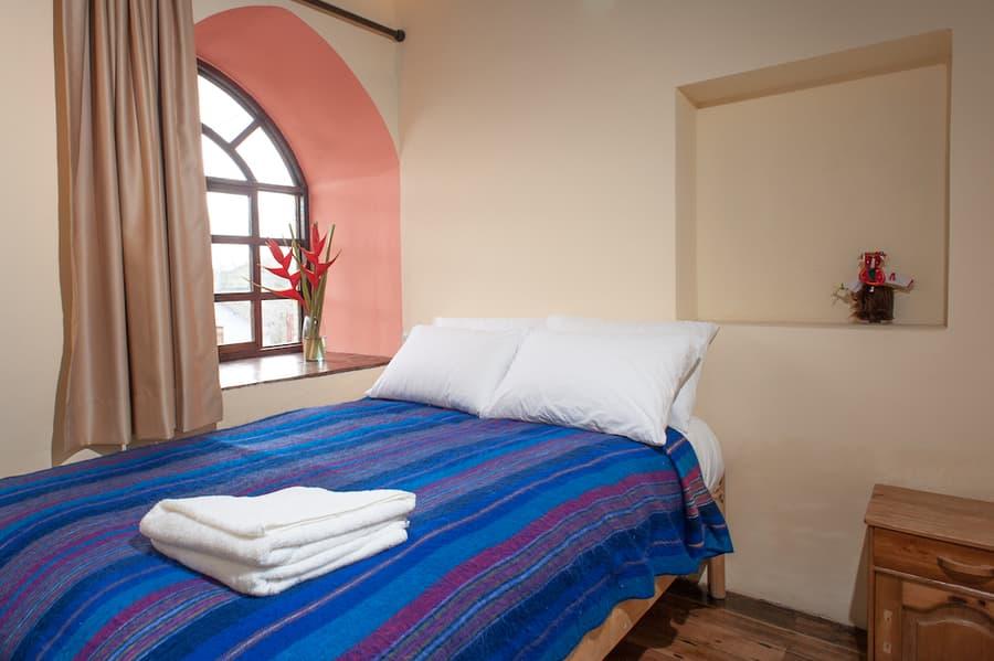 Hôtel Lodge Llullu Llama, Isinlivi près de la lagune Quilotoa, Equateur, chambre simple