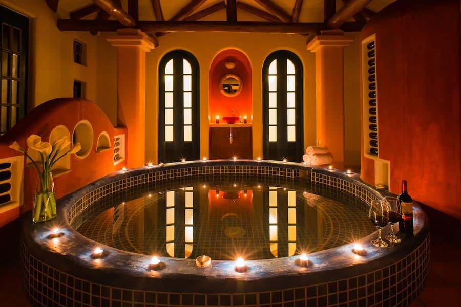 Hôtel Lodge Llullu Llama, Isinlivi près de la lagune Quilotoa, Equateur, spa romantique