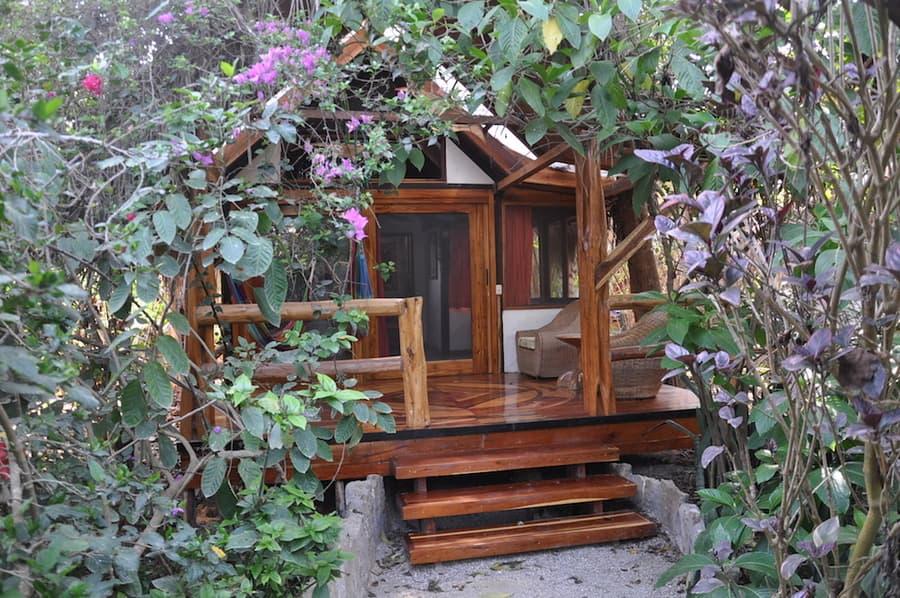 Lodge Mandala, Puerto Lopez, côte Pacifique d'Equateur, cabane standard