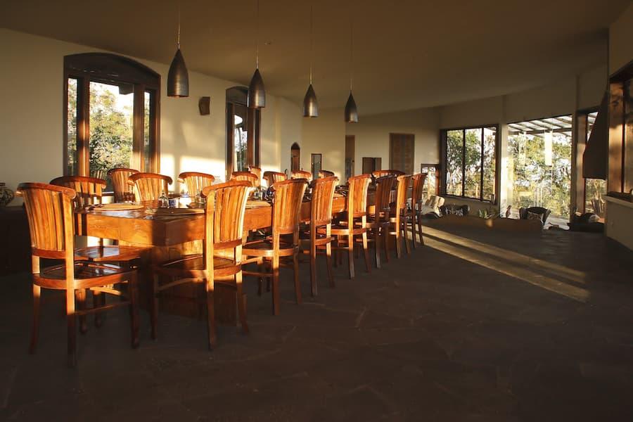 Lodge Safari Camp, Île Santa Cruz, Galapagos, Equateur, restaurant