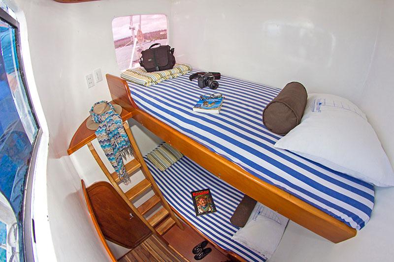 Croisière plongée Lonesome George,cabine twin
