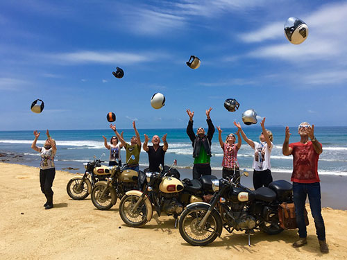 Séjour moto en Equateur, motards