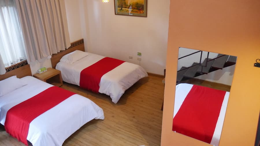 Hôtel Las Culturas, à Cuenca, Equateur, chambre pour les familles