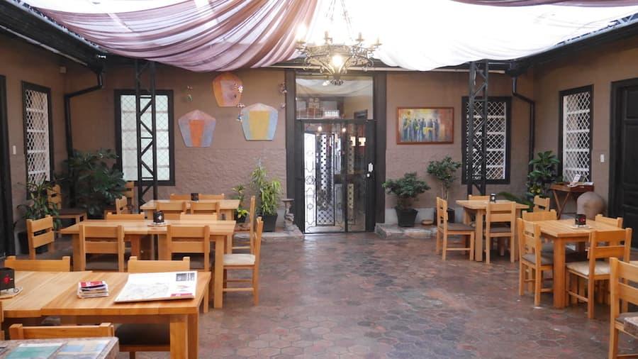 Hôtel Las Culturas, à Cuenca, Equateur, salle à manger