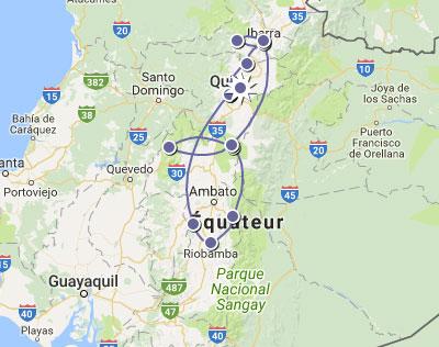 Séjour volcans d'Equateur
