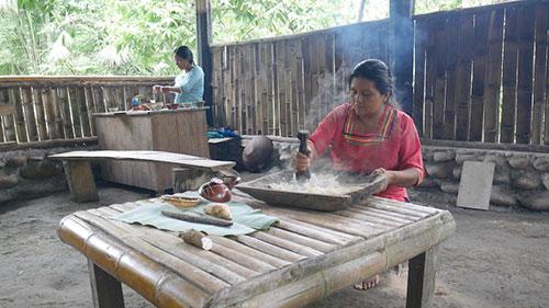 Voyage dans une communauté en Equateur