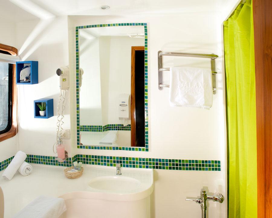Croisière Galapagos Galaxy, salle de bain