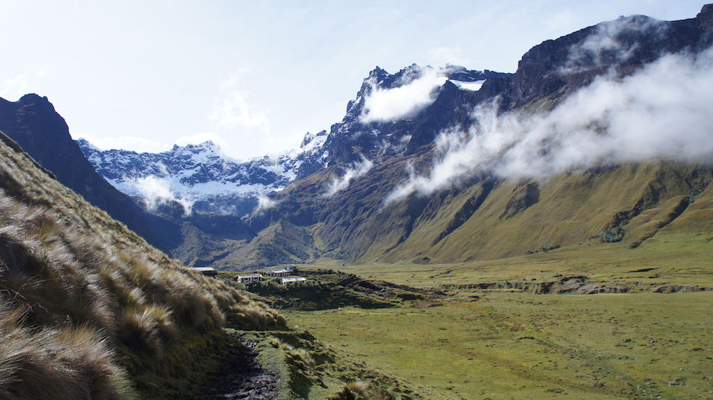 Trekking Altar en Equateur: cratère