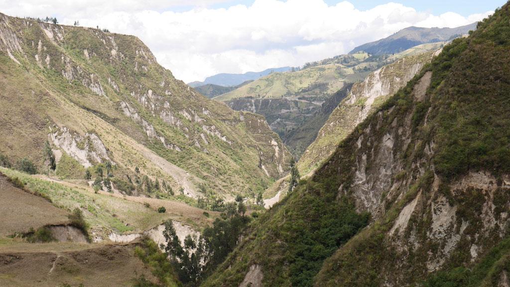 Trekking en Equateur: Canyon toachi à Chugchilan