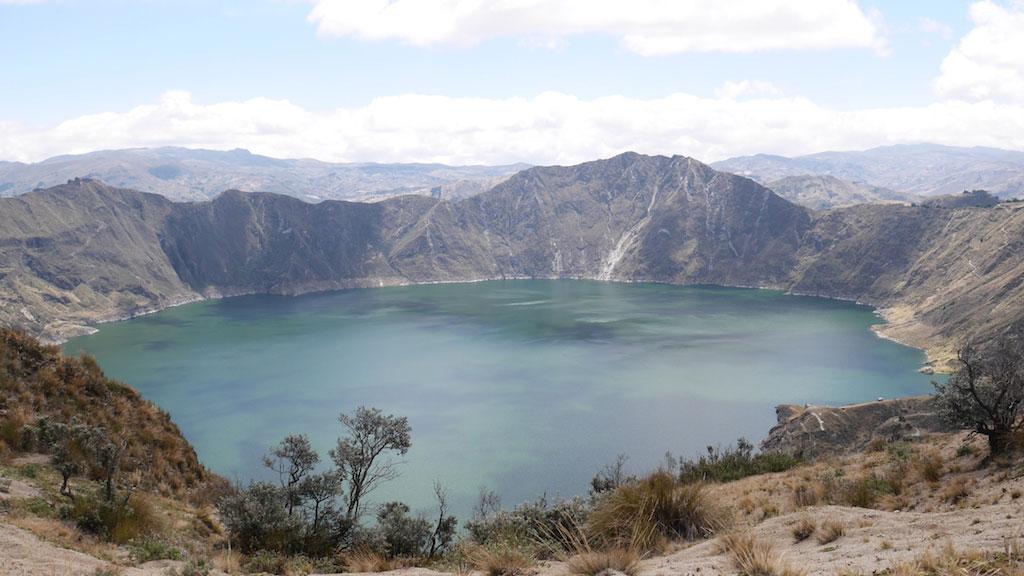 Trekking en Equateur: lagune Quilotoa vers Chugchilan