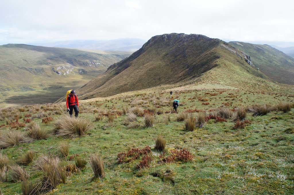 Trekking du Condor en Equateur: paysages