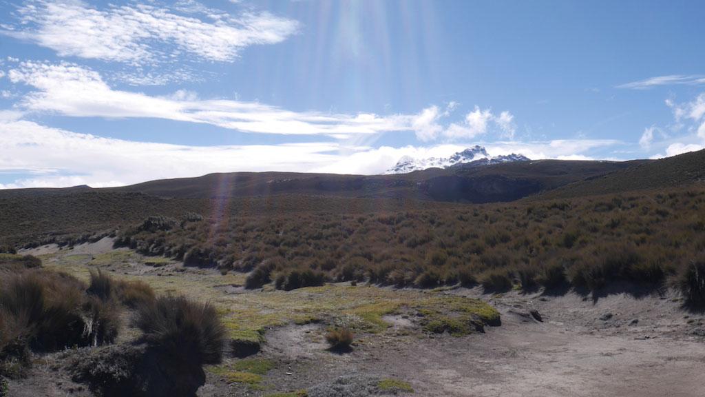 Trekking des Vigognes en Equateur: Cvolcan Carihuairazo