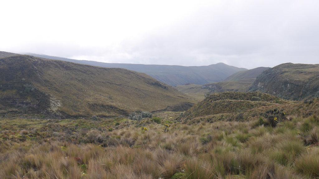 Trek des Vigognes en Equateur: Jour 1