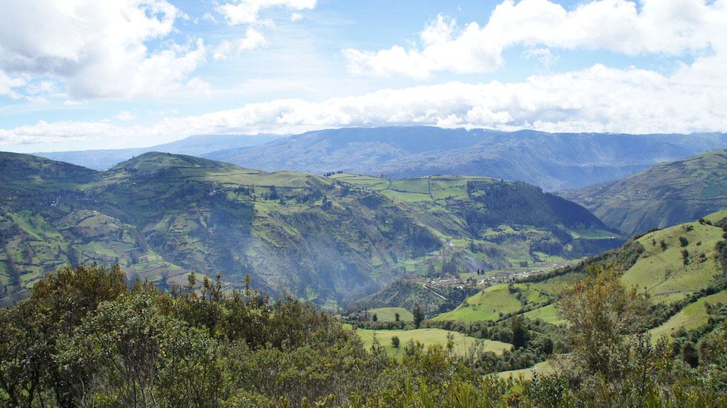 Trek Altar en Equateur: paysages