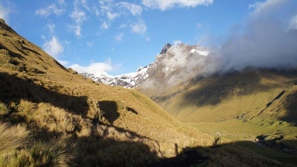 Trek Altar en Equateur: volcan