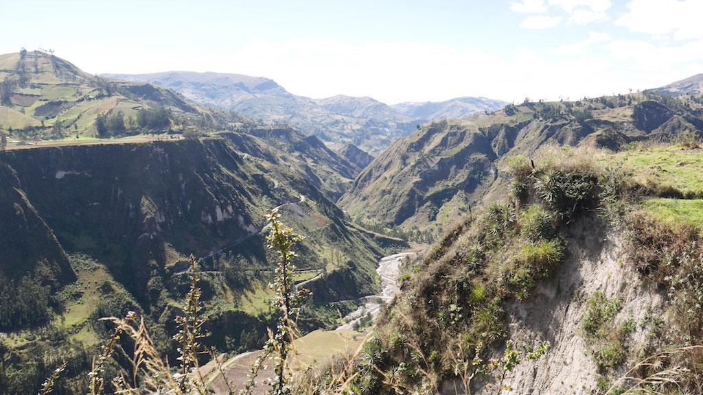 Trek en Équateur: Canyon toachi à Chugchilan