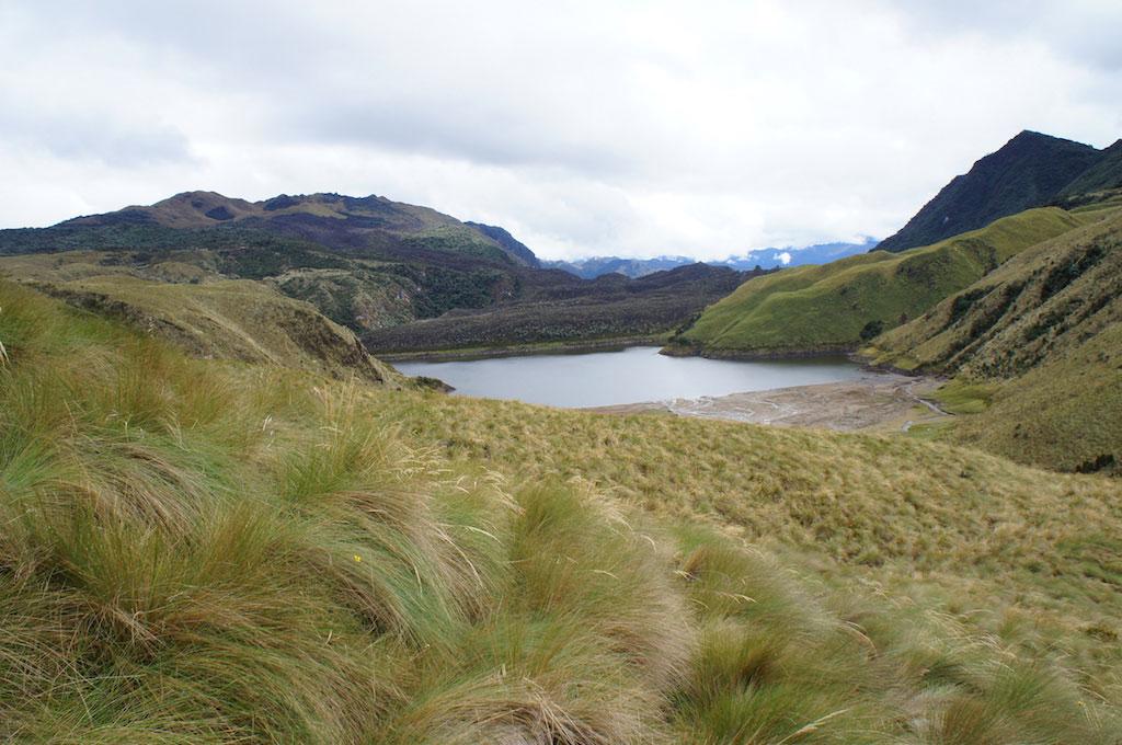 Trek du Condor en Equateur: lagune