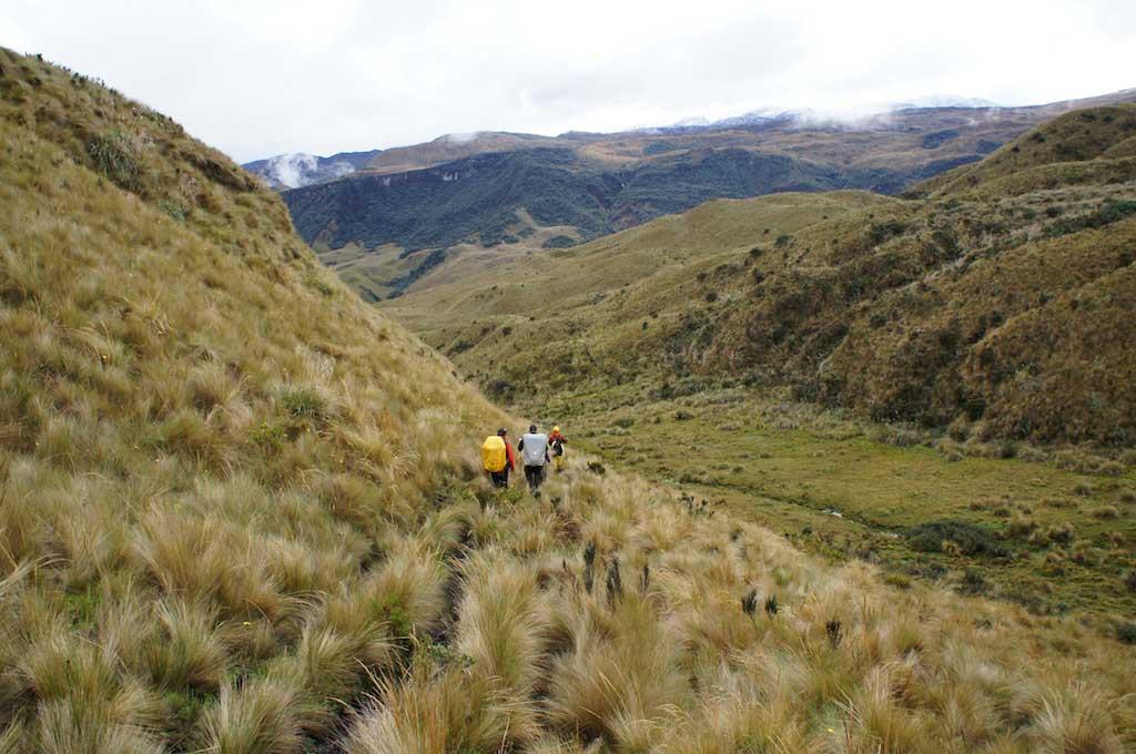 Trek du Condor en Equateur: paysages