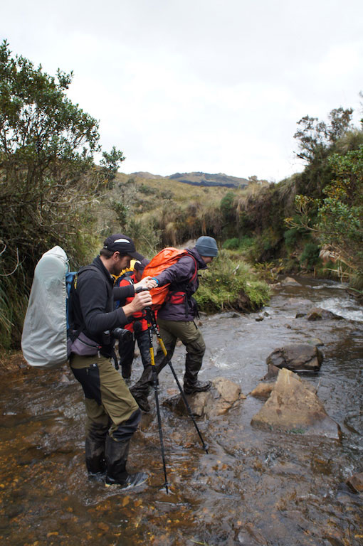 Trek du Condor en Equateur: cours d'eau