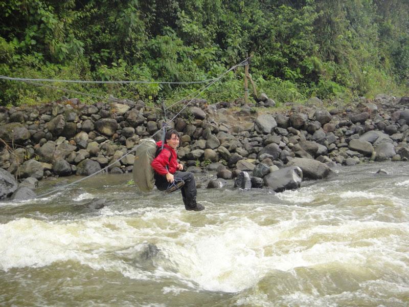 Trek Lloa-Mindo en Equateur: traverséei