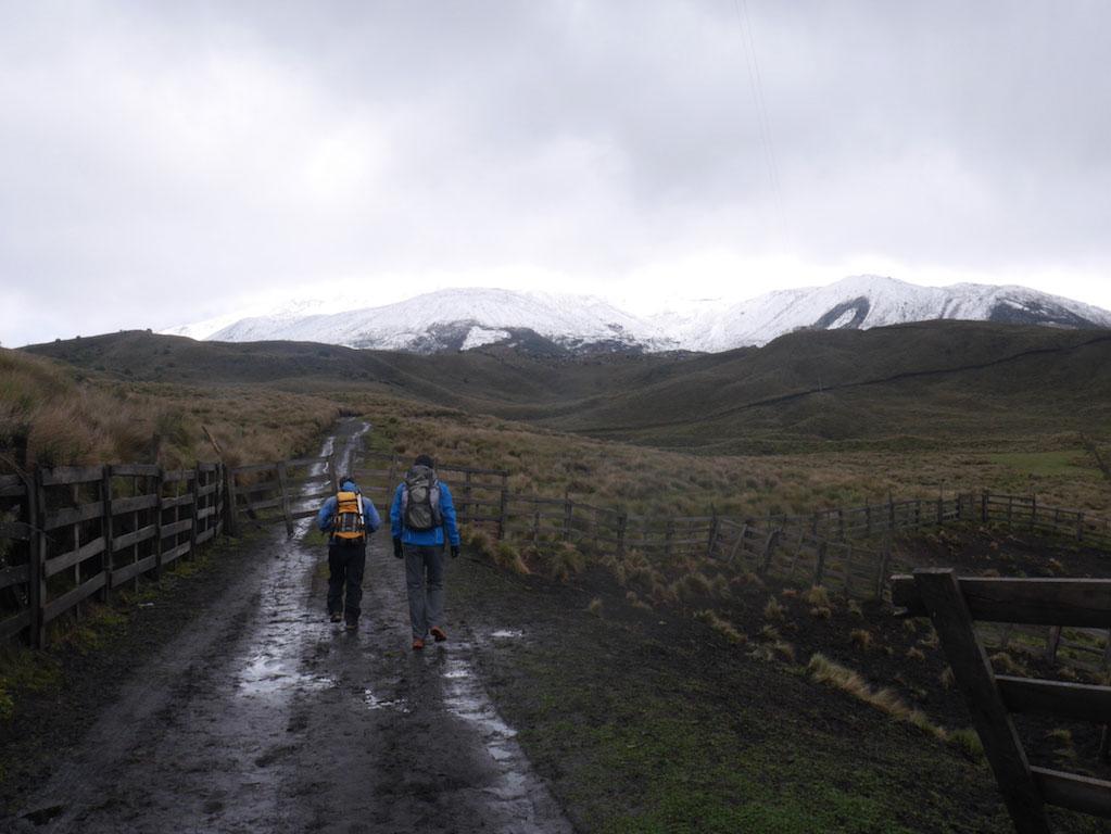 Trekking des Vigognes en Equateur: départ