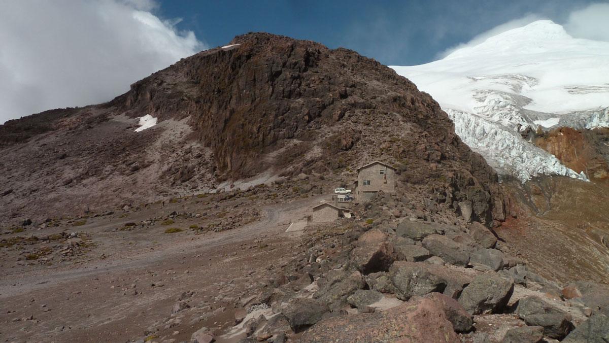Volcan Cayambe: vue
