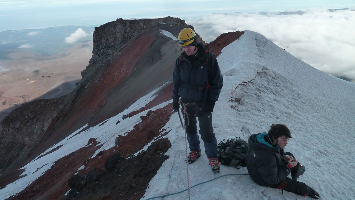 Volcan Chimborazo: retour au refuge