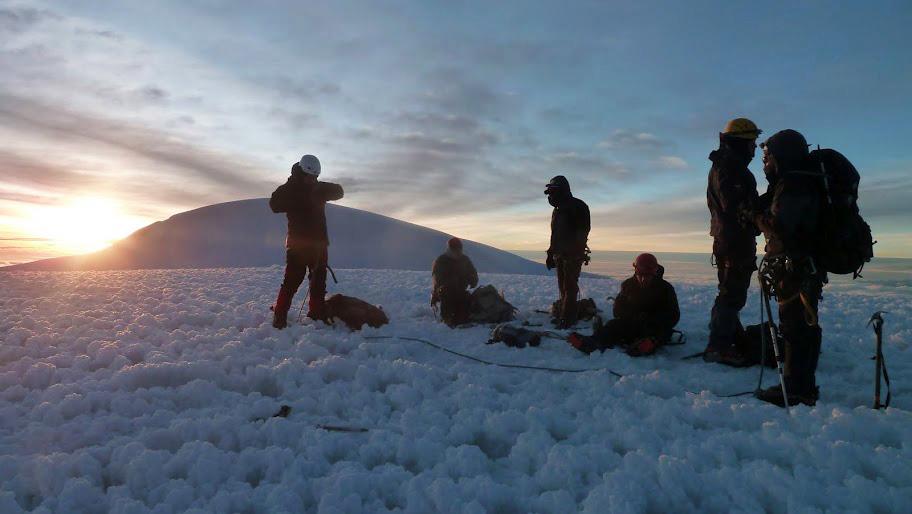 Volcan Chimborazo: sommet Veintimilla