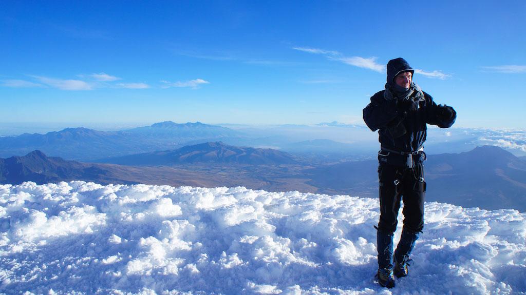 Volcan Cotopaxi: ascension d'Antoine