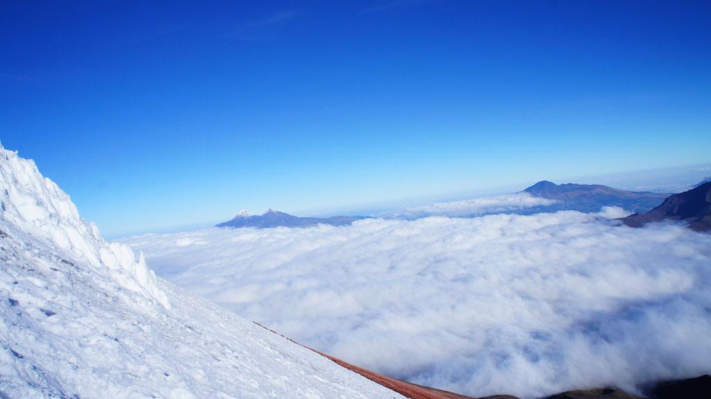 Volcan Cotopaxi: descente