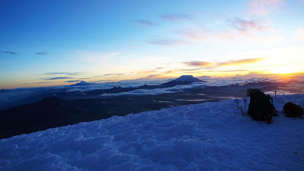 Volcan Cotopaxi: ascension au sommet